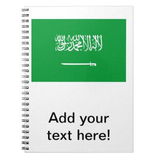 Flag of Saudi Arabia Note Books