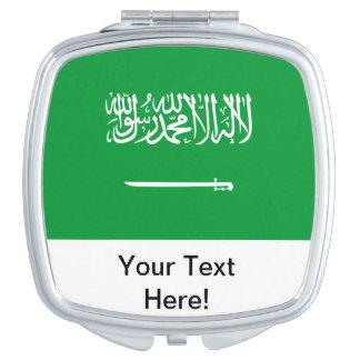 Flag of Saudi Arabia Travel Mirror
