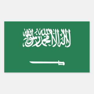 Flag of Saudi Arabia Rectangular Sticker