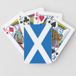 Flag of Scotland - Bratach na h-Alba Bicycle Playing Cards