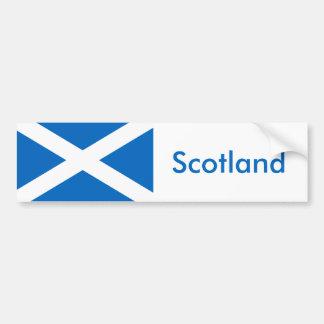 Flag of Scotland - Bratach na h-Alba Bumper Sticker