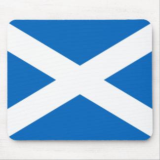 Flag of Scotland - Bratach na h-Alba Mouse Pad