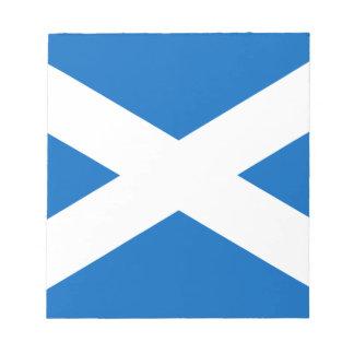 Flag of Scotland - Bratach na h-Alba Note Pad