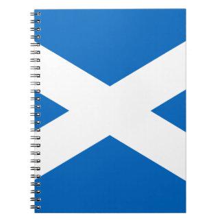 Flag of Scotland - Bratach na h-Alba Notebook