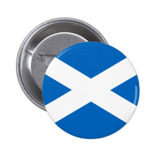 Flag of Scotland - Bratach na h-Alba Pinback Button