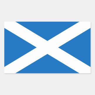 Flag of Scotland - Bratach na h-Alba Rectangular Sticker
