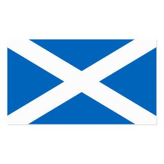 Flag of Scotland business cards