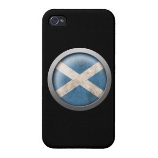 Flag of Scotland Disc iPhone 4/4S Cover