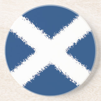 Flag of Scotland Drink Coaster