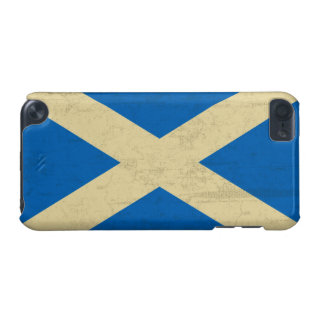 Flag of Scotland Grungy iPod Touch 5G Case