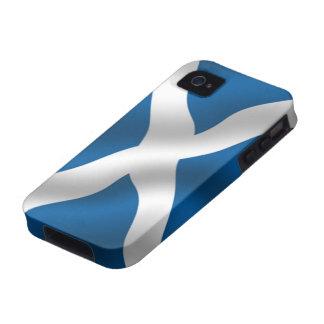 Flag of Scotland iPhone 4 Case-Mate Tough™