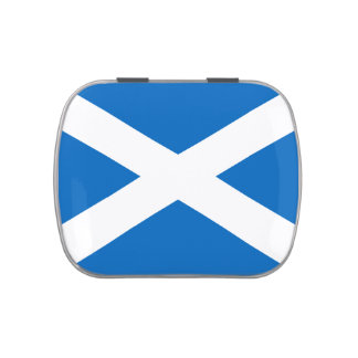 Flag of Scotland Jelly Belly™ Candy Tin