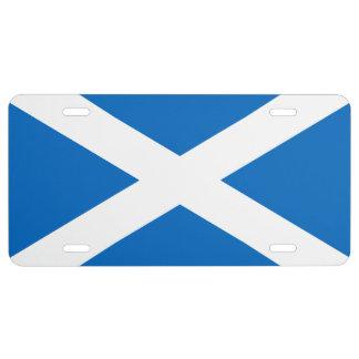 Flag of Scotland License Plate