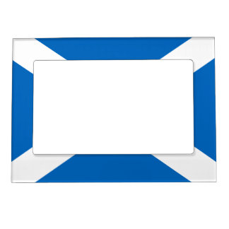 Flag of Scotland Magnetic Picture Frame