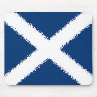 Flag of Scotland Mousepads