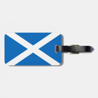 Flag of Scotland or Saltire Bag Tag