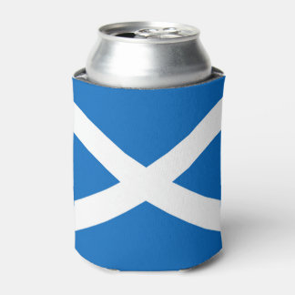 Flag of Scotland or Saltire Can Cooler