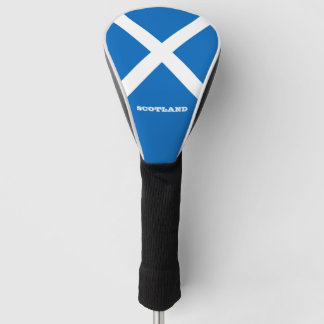 Flag of Scotland or Saltire Golf Head Cover