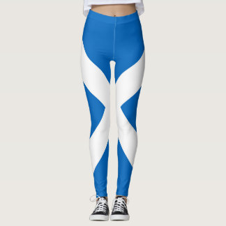 Flag of Scotland or Saltire Leggings