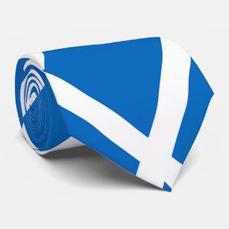 Flag of Scotland or Saltire Neck Tie