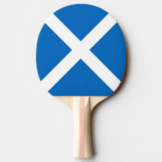 Flag of Scotland or Saltire Ping-Pong Paddle
