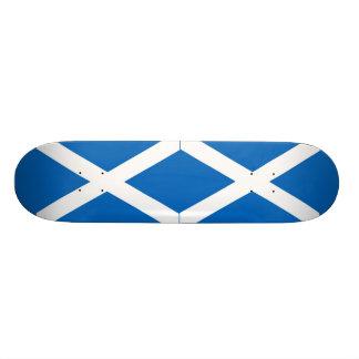 Flag of Scotland or Saltire Skateboard