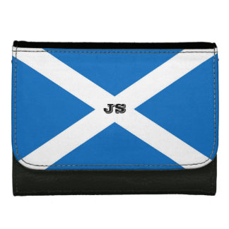 Flag of Scotland or Saltire Wallet For Women