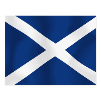 Flag of Scotland Postcard