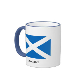 Flag of Scotland Ringer Mug