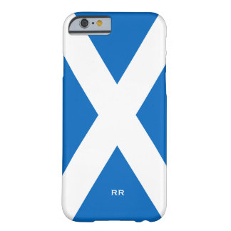 Flag of Scotland Saltire White On Blue St Andrews Barely There iPhone 6 Case