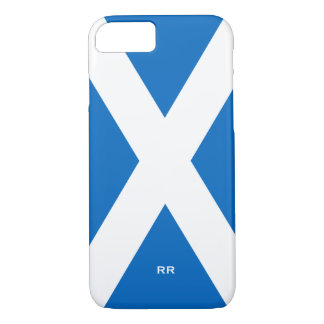 Flag of Scotland Saltire White On Blue St Andrews iPhone 7 Case