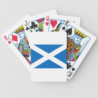 Flag of Scotland - Scottish Flag Bicycle Playing Cards