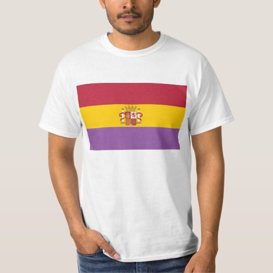 Flag of Second Spanish Republic T Shirt