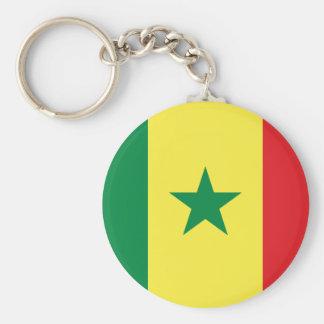 Flag of Senegal Keychain