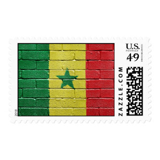 Flag of Senegal Postage