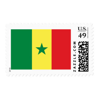 Flag of Senegal Postage Stamps