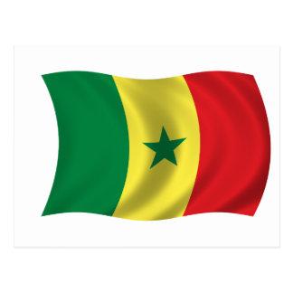 Flag of Senegal Postcards
