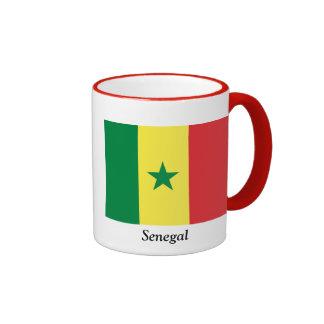 Flag of Senegal Ringer Mug