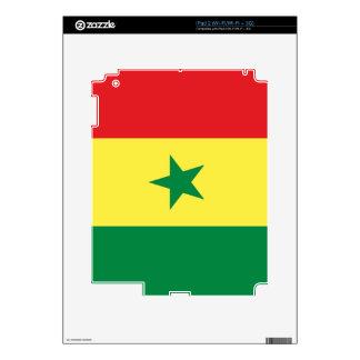 Flag of Senegal iPad 2 Decal