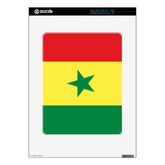 Flag of Senegal Decal For iPad