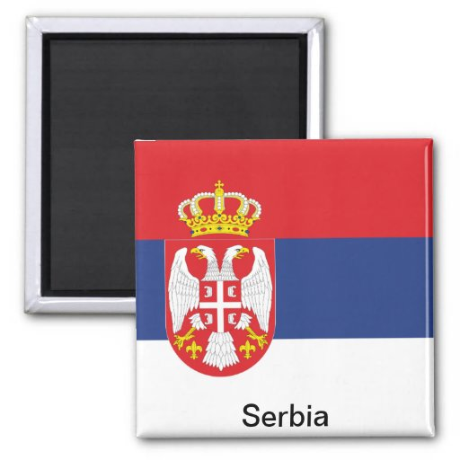 Flag of Serbia Magnets