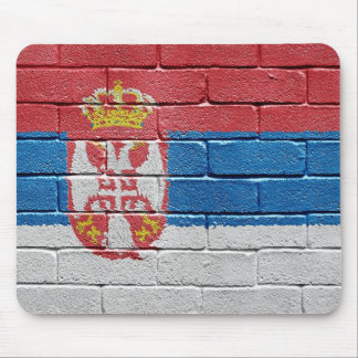 Flag of Serbia Mouse Pad