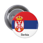 Flag of Serbia Pins