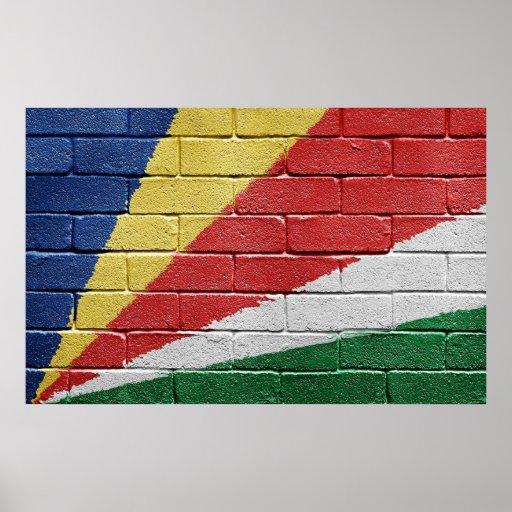 Flag of Seychelles Poster