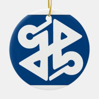 Flag of Shinjuku Ceramic Ornament