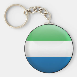 Flag of Sierra Leone Keychain
