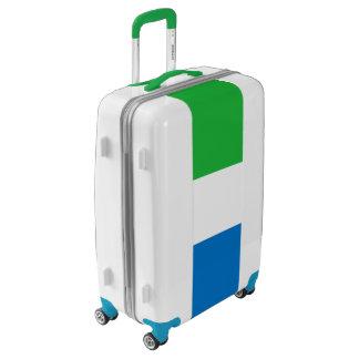 Flag of Sierra Leone Luggage (Medium)