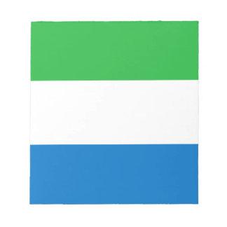 Flag_of_Sierra_Leone Notepad