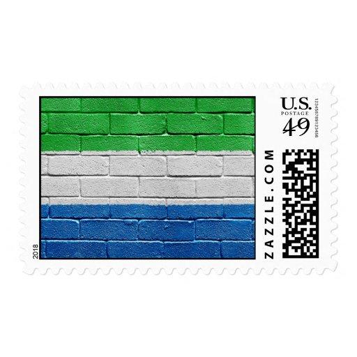 Flag of Sierra Leone Stamps