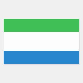 Flag of Sierra Leone Rectangular Stickers